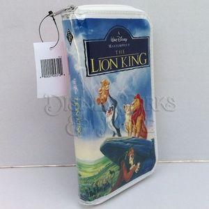 Disney The Lion King VHS Wallet/Clutch Purse